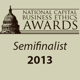 National Capital Business Ethics Awards Semifinalist 2013