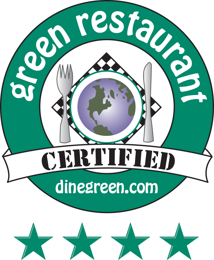 4-Star Green Caterer with the Green Restaurant Association - La Prima Catering
